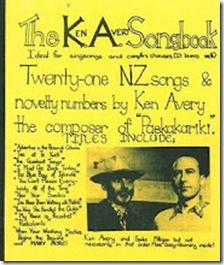 Ken Avery songbook